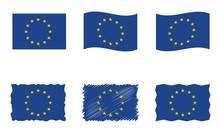 European Union Flag, Vector Fl...
