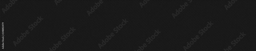 Fototapety, obrazy: Dark black Geometric grid background Modern dark abstract texture