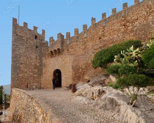 Zdjęcie XXL Castell de Capdepera we wschodniej części Majorki / Hiszpanii
