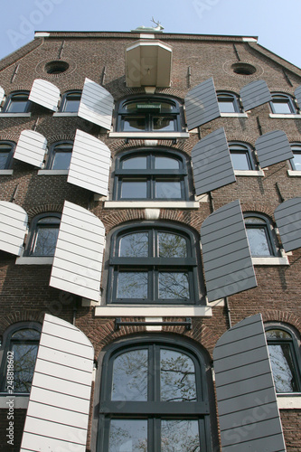 Photo  Historic house in Amsterdam