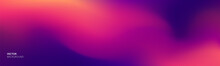 Purple Gradient Background. Vector Abstract Purple Red Color Blend Gradient Background