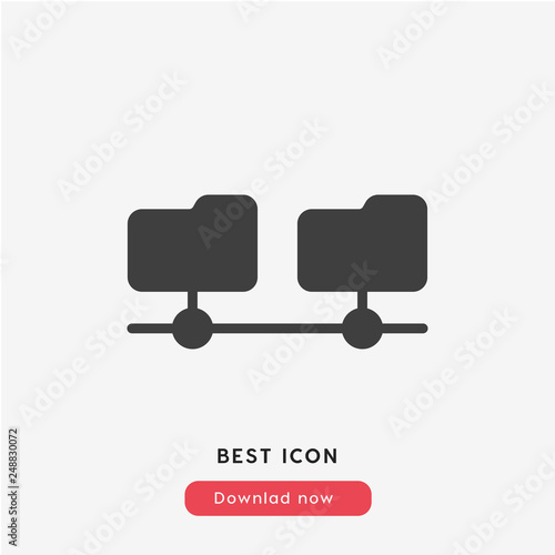 cloud server icon vector - Buy this stock vector and explore