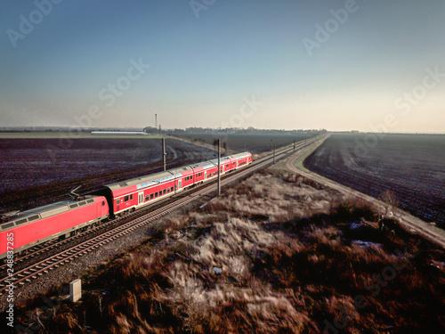 Türaufkleber Eisenbahnschienen Schienen, Infrastruktur und Gleisanlagen
