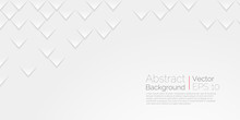 White Abstract Background. Vector Wallpaper Abstract Scales Texture