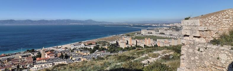 Fototapeta na wymiar Golfo di Cagliari