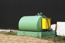 Refuelling Tank In A Farm