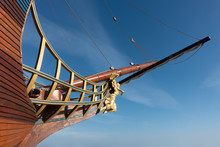 Sailing Ship Bow And Figurehead