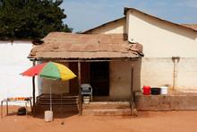 Roadside House In The Gambia
