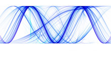 Blue Sinusoids With Identical ...