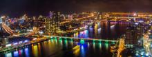 Danang City Views By Night, In...
