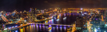 Danang City Views By Night, In...