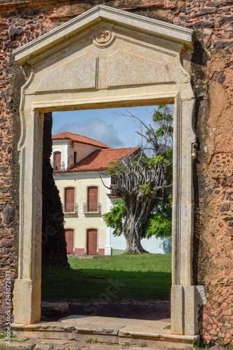 Photo Matriz Church ruins in the historic city of Alcantara, Brazil