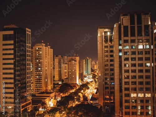 Wall Murals Toronto São Paulo iluminada