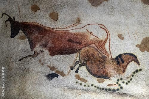 Obrazy na ścianę  lascaux-petroglyph-detail