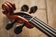 Construction Of Violin. Top Vi...