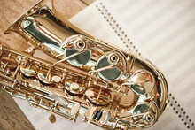 The Joy Of Sax. Top View Of Be...