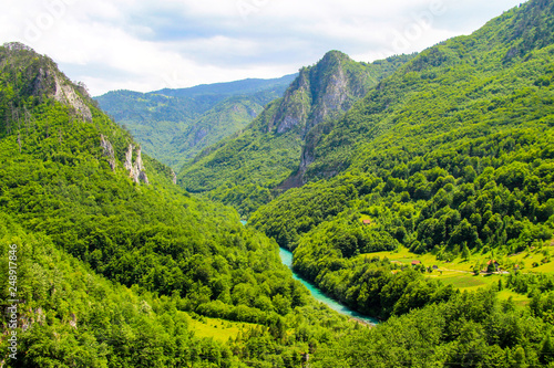 Fototapeta Montenegro view