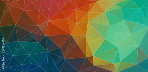 Triangle geometric background. Abstract shapes composition. vector.
