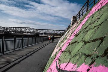 Wrocławskie Mosty . Dolnośląskie, Polska, Europa