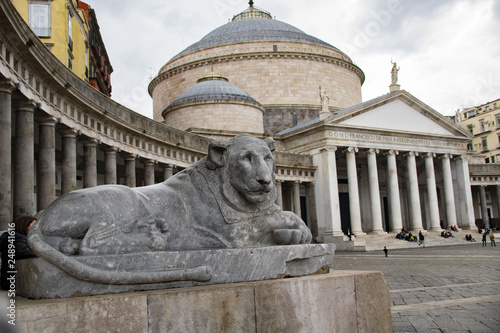 Valokuva  piazza del plebiscito, napoli
