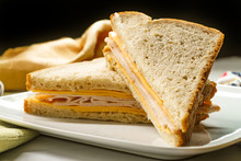 Cheese Turkey Mayonnaise Sandw...