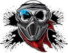 Paintball Skull
