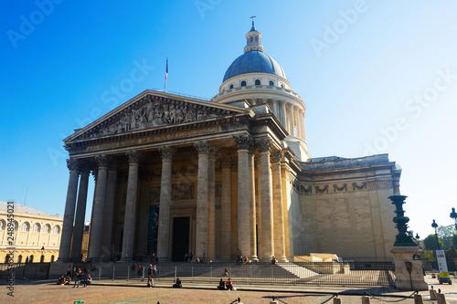 Photo Stands Paris Pantheon in Latin Quarter, Paris