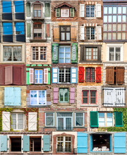 Collage Of Windows Of Every World