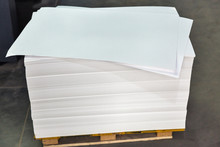 Sheets Of White Paper For The ...