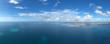 The beautiful tropical Island of Zanzibar aerial view. sea in Zanzibar beach, Tanzania.