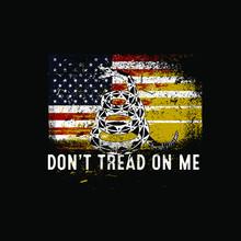 Don't Tread On Me Gadsden Flag...