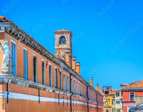 Foto  Architecture Venice Italy scenery.