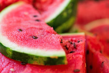 Fresh Ripe Watermelon Texture