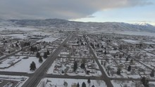 Snowy Mountains Of Small Utah ...