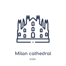 Milan Cathedral Icon From Monu...