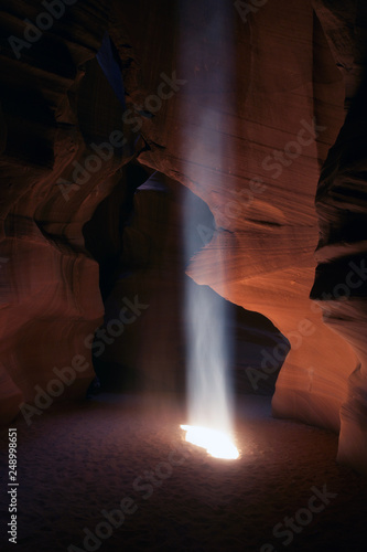 Printed kitchen splashbacks Brown Antelope Canyon, Navajo Land