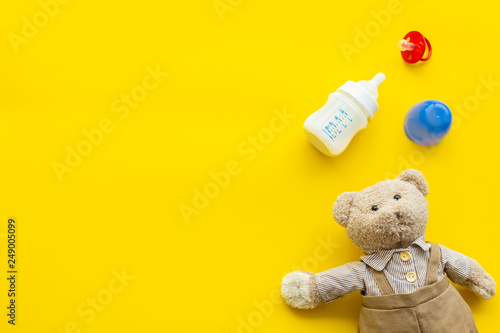 Photo  Food for babies concept