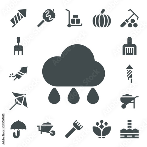 Foto  seasonal icon set