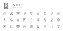 Cold Icons Set