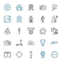 Badge Icons Set