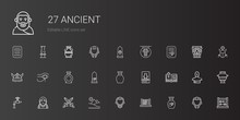 Ancient Icons Set