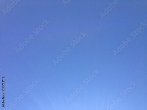 Photo  Bleu comme le ciel