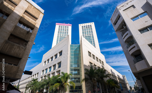 main buildings of Casablanca Business Center Fotobehang
