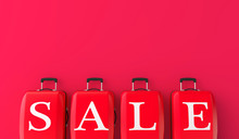 Summer Sale. Luggage With Sale...