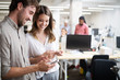 Business people meeting good teamwork in office