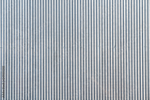 Foto  Seamless zinc pattern facade in gray color / architecture / seamless pattern / w