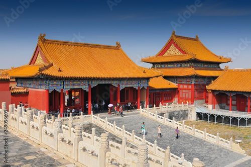 Photo  The Forbidden City, a palace complex in central Beijing, China