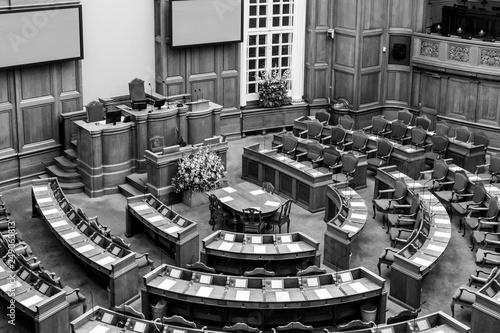 Danish parliament in Copenhagen, Denmark Fototapeta