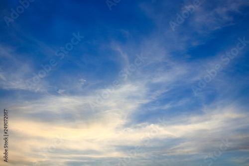 Canvas Prints Heaven Blue sky Southeast Asia