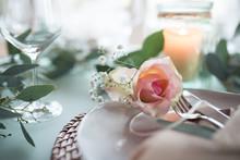 Romantic Place Setting